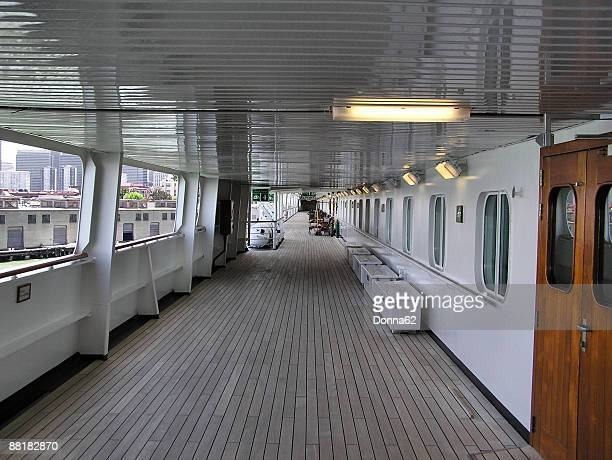 Teak deck on a particular cruise ship