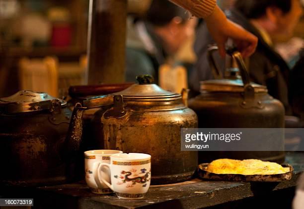 teakettle on stove