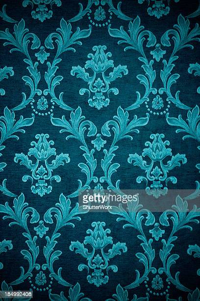 Teal Victorian Background