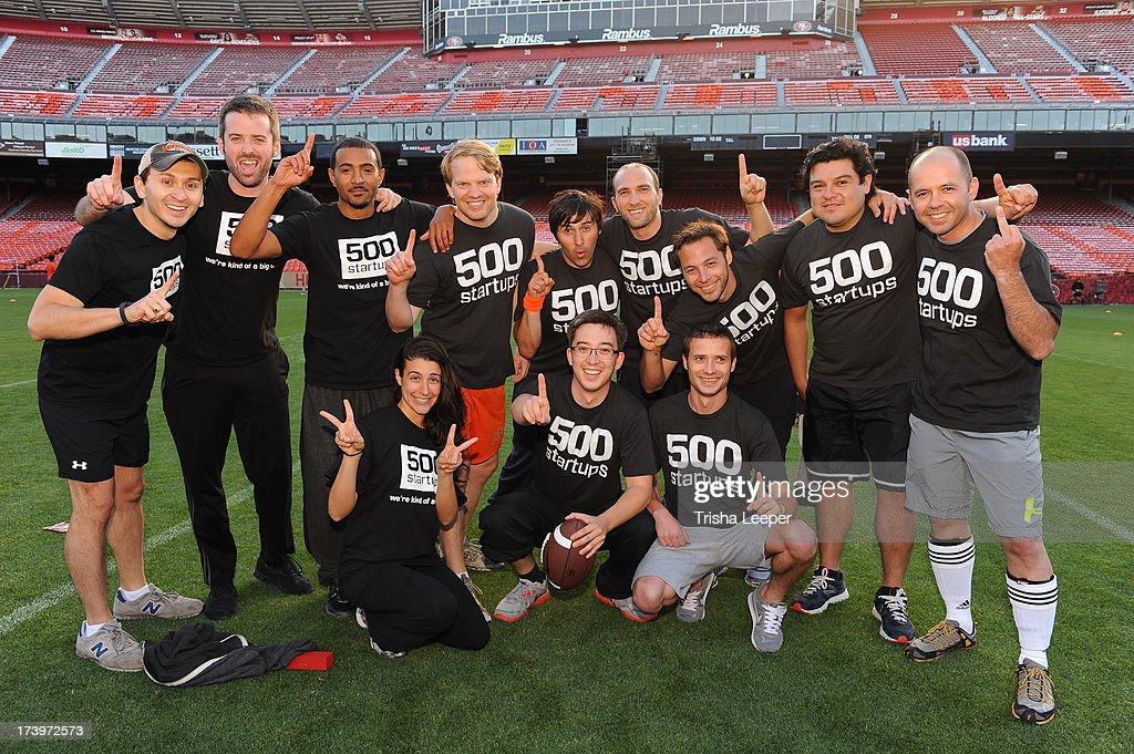 Team 500 Startups attends founders Institutes Tech Carnival 2013 at Candlestick Park on July 17, 2013 in San Francisco, California.