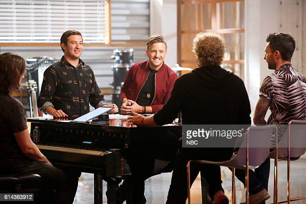 THE VOICE 'Team Adam Battle Reality' Pictured Andrew DeMuro Billy Gilman