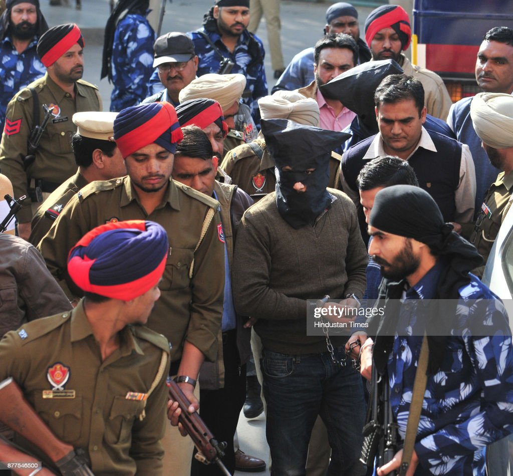 NIA Present Ramandeep Singh Canadian And Hardeep Singh Shera In Court In Targeted Killings Of RSS Leaders Case