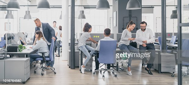 Team at work concept. : Foto stock