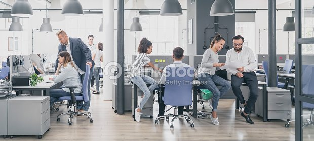 Team at work concept. : Stock Photo