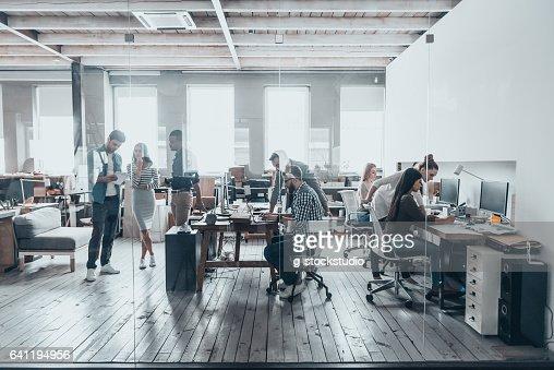 Team at work. : Stock Photo
