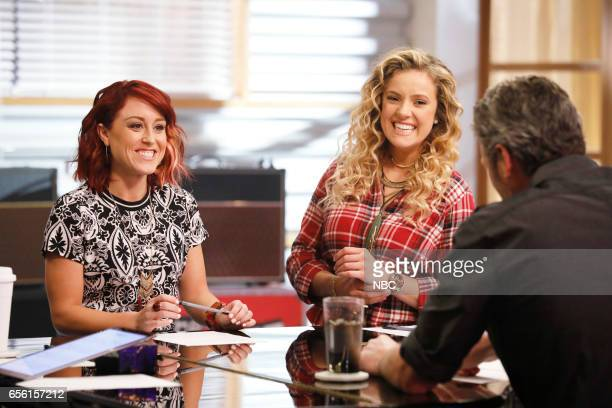 THE VOICE 'Team Blake Battle Reality' Pictured Casi Joy Ashley Levin