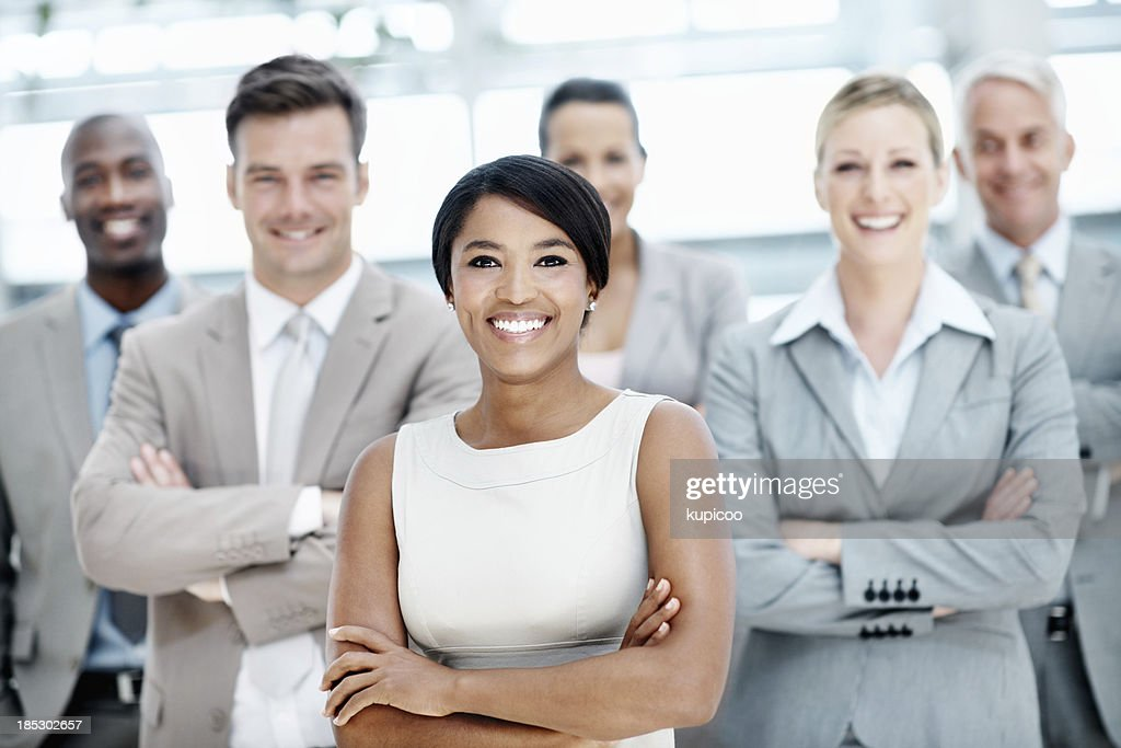 Team built to serve your business needs : Stock Photo