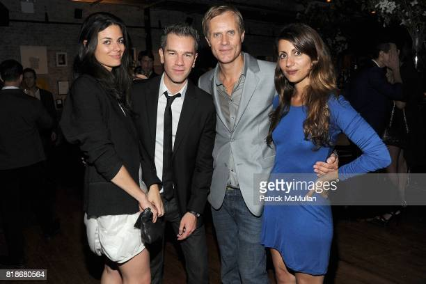 Team Calvin Nacole Snoep Josh Reed Malcolm Carfrae and Vasoula Barbagiannis attend 2010 WHITNEY ART PARTY Presented by BCBGMAXAZRIA at 82Mercer on...