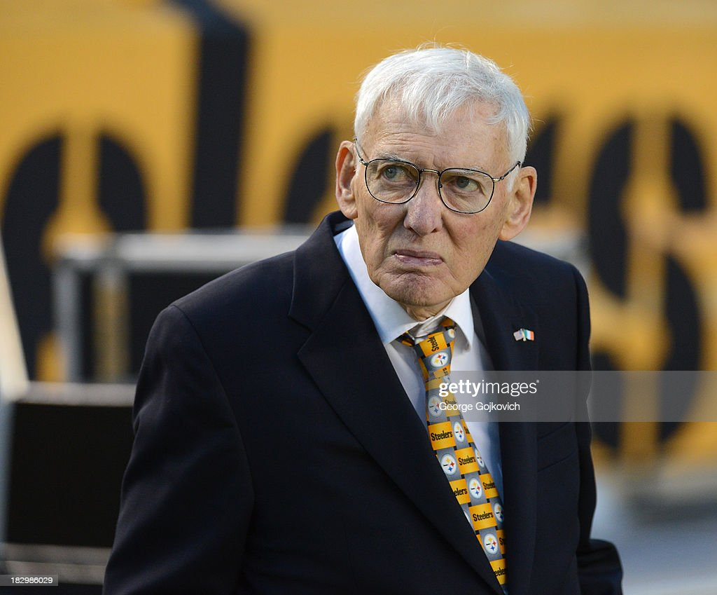 Team chairman and owner Daniel Rooney of the Pittsburgh Steelers looks on from the sideline before a game against the Chicago Bears at Heinz Field on September 22, 2013 in Pittsburgh, Pennsylvania. The Bears defeated the Steelers 40-23.