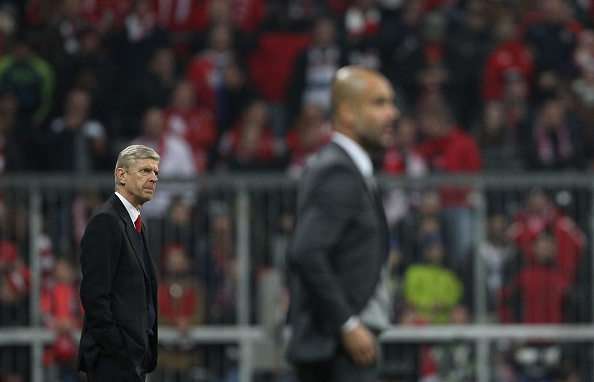 FC Bayern Muenchen v Arsenal FC - UEFA Champions League : News Photo