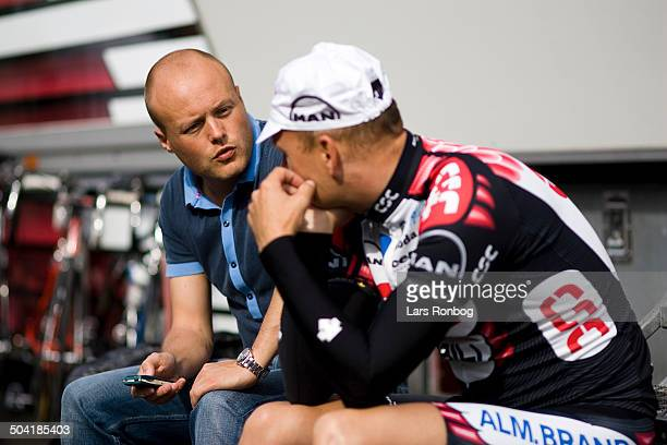 Team CSC Eurotel Lanaken Training Bjarne Riis Communication Manager Brian Nygaard