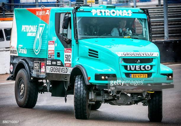 Team De Rooy Iveco Powerstar Torpedo Dakar race truck