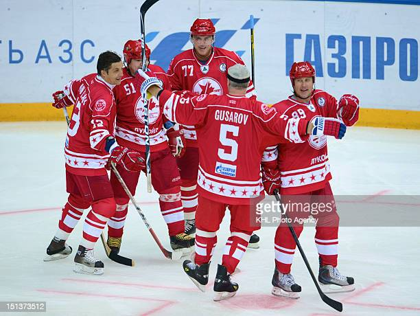 USSR team during the friendly match between Canada Team and USSR Team during the 40th anniversary of Summit Series 1972 on September 5 2012 at the...