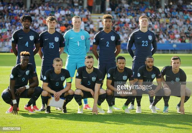 Team England Nathaniel Chalobah John Swift Jordan Pickford Mason Holgate Alfie Mawson Tammy Abraham James WardProwse Calum Chambers Lewis Baker...