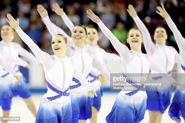 Team Finland Marigold IceUnity competes in the free skate during the ISU Wolrd Figure Skating Championships on April 8 2017 in Colorado Springs...