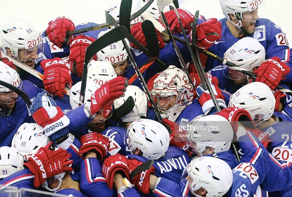 France v Canada - 2014 IIHF World Championship in Minsk