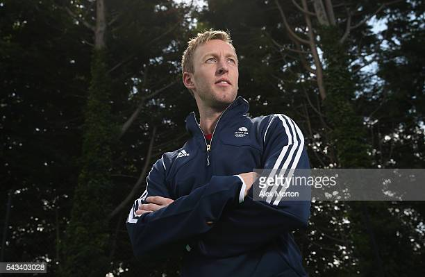 Team GB captain Barry Middleton during the Announcement of Hockey Athletes Named in Team GB for the Rio 2016 Olympic Games at the Bisham Abbey...