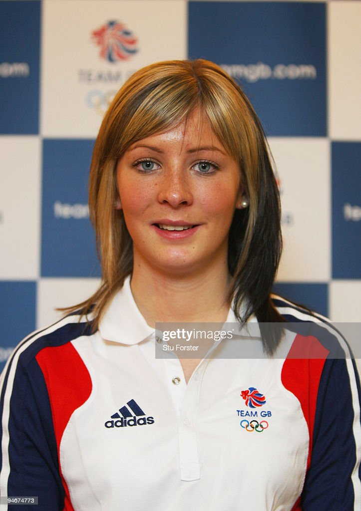Team GB Curling Womens skip Eve Muirhead looks on at the announcment of the Vancouver 2010 Olympic Winter Games Curling team at the Sofitel Heathrow...