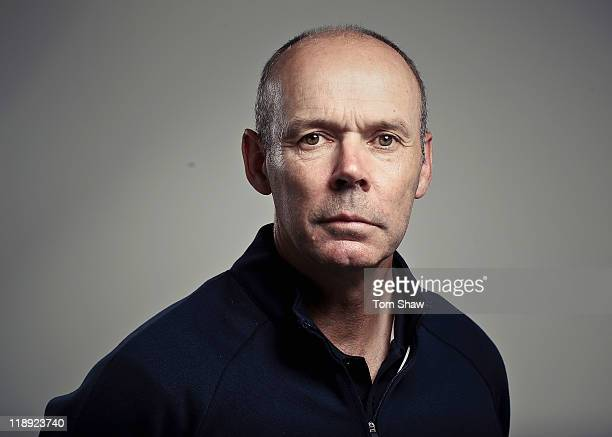 Team GB Deputy Chef De Mission Clive Woodward poses for a portrait during the British Olympic Association Media Briefing at Westfield Stratford City...