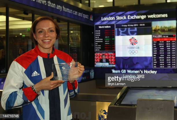 Team GB Hockey Captain Kate Walsh poses for a photo during the Announcement of the Women's Hockey Athletes Named in Team GB for the London 2012...