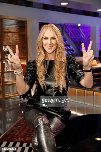 THE VOICE 'Team Gwen Battle Reality' Pictured Celine Dion