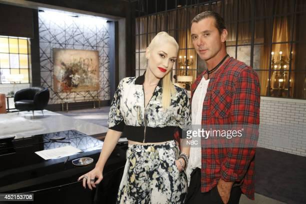 THE VOICE 'Team Gwen Battle Reality' Pictured Gwen Stefani Gavin Rossdale