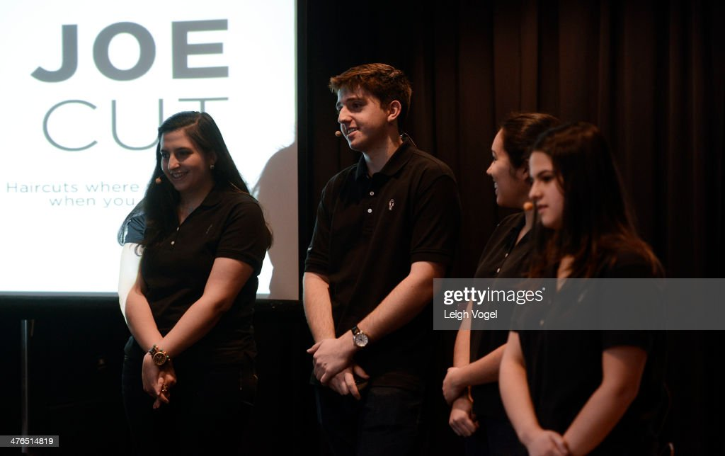 Team Joe Cut presents during the 2014 EDENS Retail Challenge at Gansevoort Park Hotel on March 3, 2014 in New York City.