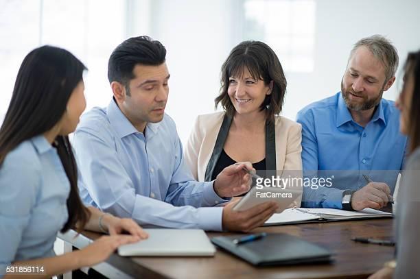 Team Meeting in the Boardroom