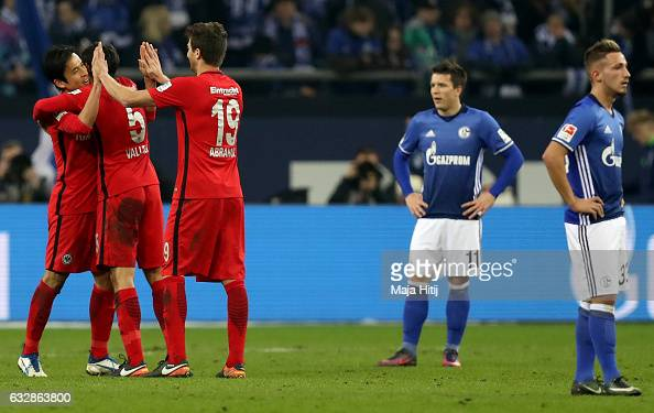 FC Schalke 04 v Eintracht Frankfurt - Bundesliga : News Photo