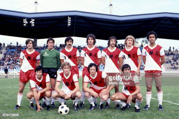 Team Monaco during the Divsion 1 match between Lille and Monaco in Stadium Lille France on 19th July 1978