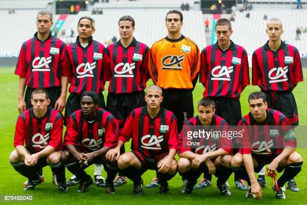Team Nice during Gambardella Final match between Nice and Nantes on May 31th 2003 Olivier Prevosto / Icon Sport