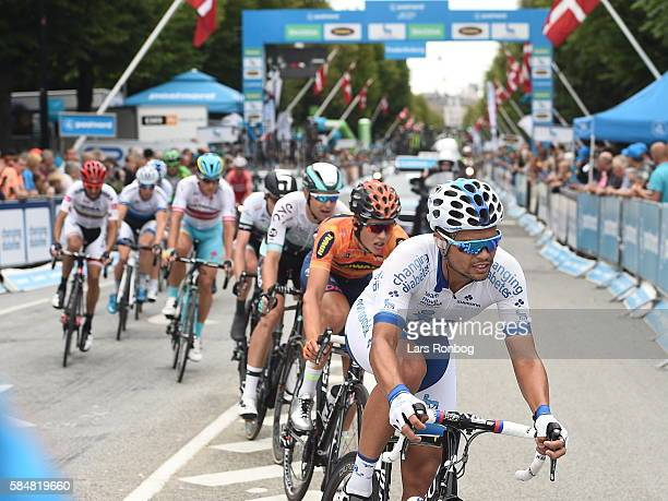 Team Novo Nordisk in action during stage five at the Postnord Danmark Rundt race between Karrebaksminde and Copenhagen on July 31 2016 in...