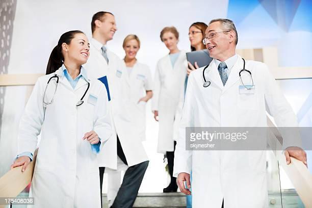 Team von Ärzten.