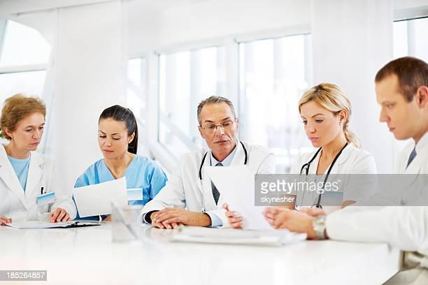 Team di medici.