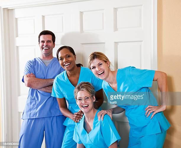 Team di operatori sanitari: