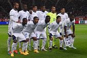Team of Honduras during the international friendly match between Japan and Honduras at Toyota Stadium on November 14 2014 in Toyota Japan