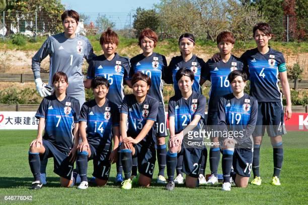 Team of Japan Women Erina Yamane Hikari Takagi Mizuho Sakaguchi Aya Sameshima Mina Tanaka Saki Kumagai Emi Nakajima Yu Nakasato Rika Masuya Hikaru...