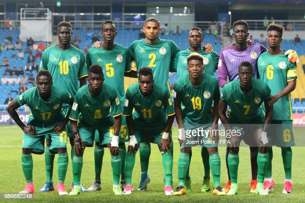 Team of Senegal ahaed the FIFA U20 World Cup Korea Republic 2017 group F match between Saudi Arabia and Senegal at Incheon Munhak Stadium on May 22...