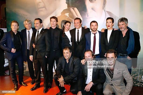 Team of the movie Actor Benoit Magimel Producer Alain Ilan actor Gilles Lellouche Director Cedric Jimenez his companion scenarist Audrey Diwan actors...