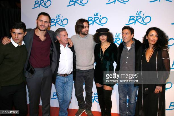 Team of the movie Actor Yasin Houicha producer Benjamin Elalouf actor Daniel Auteuil producer Dimitri Rassam actress Camelia Jordana director Yvan...