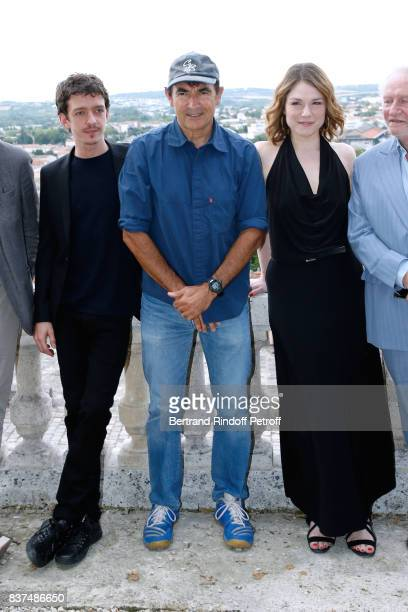 Team of the movie Actors Nahuel Perez Biscayart Director Albert Dupontel and actress Emilie Dequenne attend the 10th Angouleme FrenchSpeaking Film...