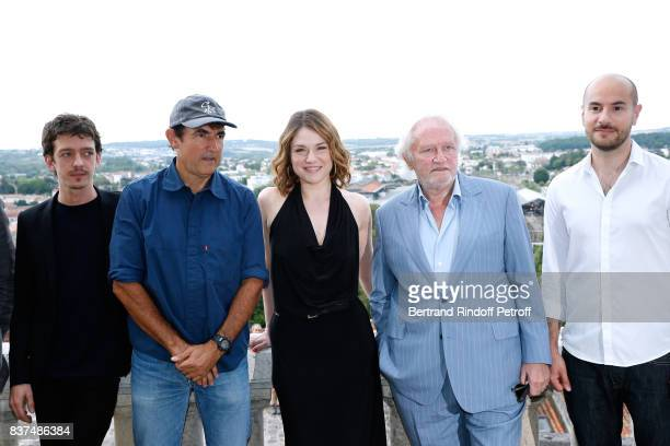 Team of the movie Actors Nahuel Perez Biscayart Director Albert Dupontel actors Emilie Dequenne Niels Arestrup and Kyan Khojandi attend the 10th...