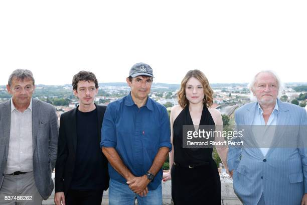 Team of the movie Actors Pierre Lemaitre Nahuel Perez Biscayart Director Albert Dupontel actors Emilie Dequenne and Niels Arestrup attend the 10th...