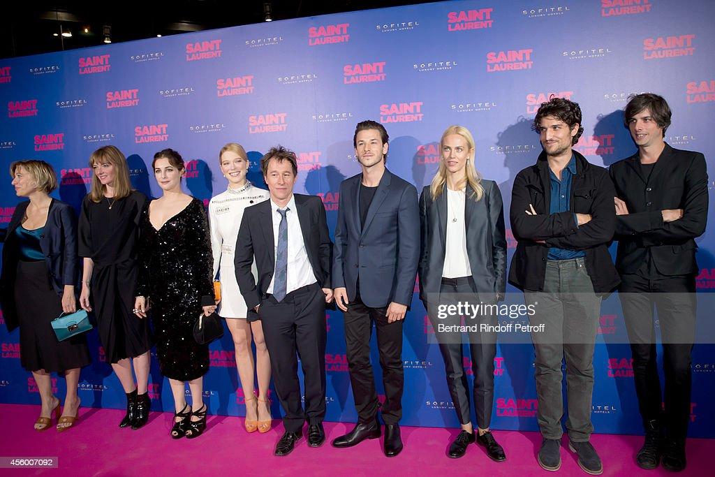 'Saint Laurent' Premiere At Centre Pompidou