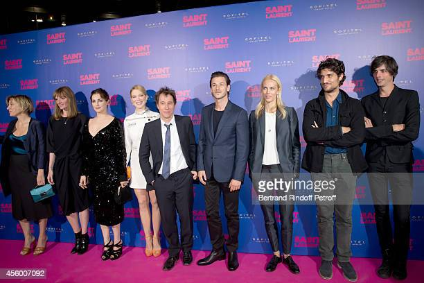 Team of the movie actors Valeria Bruni Tedeschi Kate Moran Amira Casar Lea Seydoux Director Bertrand Bonello Gaspard Ulliel Aymeline Valade Louis...