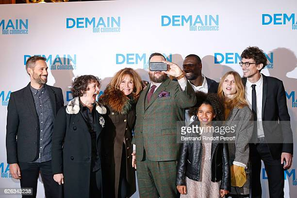 Team of the movie Composer Rob Simonsen actors Anna Cottis Clementine Celarie Antoine Bertrand Omar Sy Gloria Colston Clemence Poesy and director...