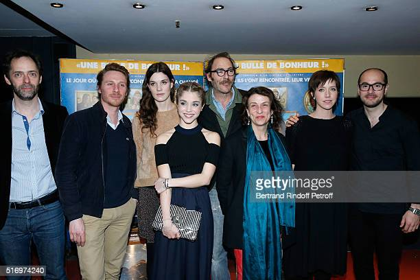 Team of the Movie Director Julien Rappeneau actors Nicolas Bridet Camille Rutherford Alice Isaaz Philippe Rebbot Noemie Lvovsky Sara Giraudeau and...