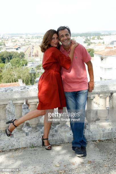 Team of the movie 'L'ecole buissonniere' actress Valerie Karsenti and director Nicolas Vanier attend the 10th Angouleme FrenchSpeaking Film Festival...