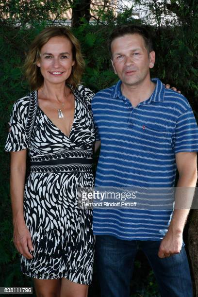 Team of the movie 'Prendre le large' actress Sandrine Bonnaire and director Gael Morel attend the 10th Angouleme FrenchSpeaking Film Festival Day Two...