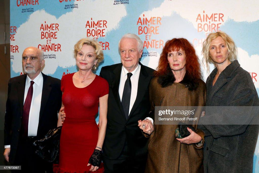 'Aimer, Boire Et Chanter' Paris Premiere At UGC Normandy